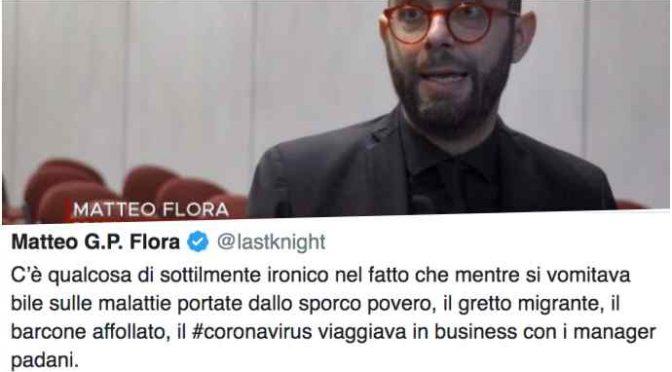 """L'esperto di Report gioisce per gli italiani infetti da Coronavirus: """"Ironico"""""""