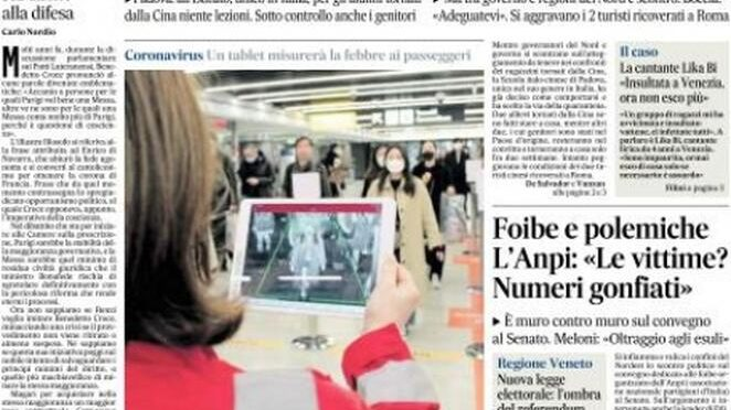 Padova, scuola cinese mette in quarantena cinesi: scuole italiane non possono