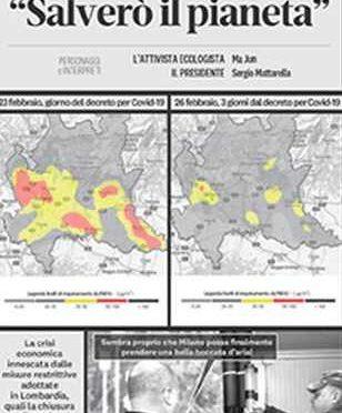 """Coronavirus, ambientalisti esultano: """"In Lombardia crolla inquinamento"""""""