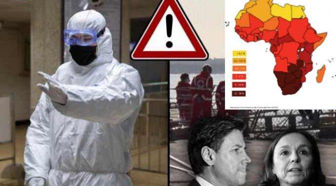 Coronavirus et Al.: chiudono le frontiere ai cinesi (0,01% infetti) e non agli africani (10% infetti)