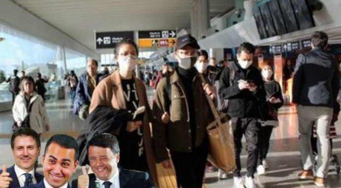 Coronavirus, la sinistra vuole i voti dei cinesi: se ne sbattono degli italiani