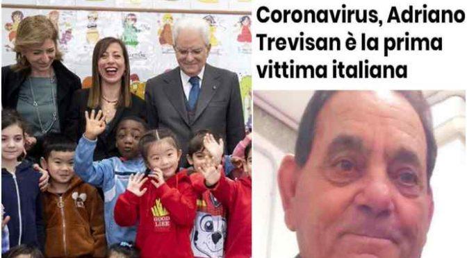 """Coronavirus, le sciocchezze di Mattarella: """"Governo tempestivo"""""""