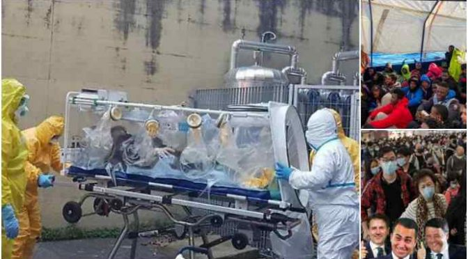 Coronavirus, Niccolò 14 ore blindato nella super barella e 2mila clandestini sbarcati senza controlli
