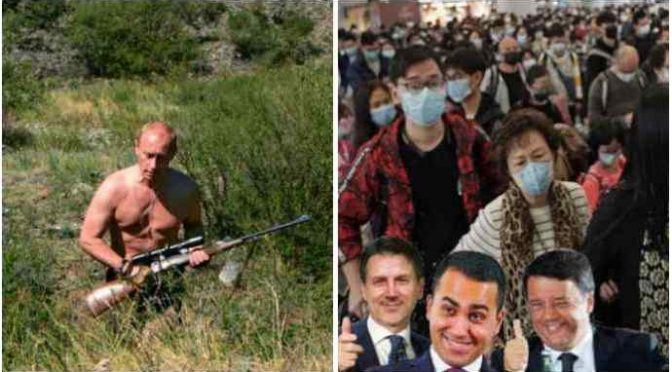 La quarantena di Putin: stipendi garantiti per tutti fino al 30 aprile, in Italia buoni spesa agli immigrati