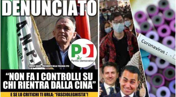 """Coronavirus, medici toscani contro Regione: """"Mettete cinesi* in quarantena"""""""
