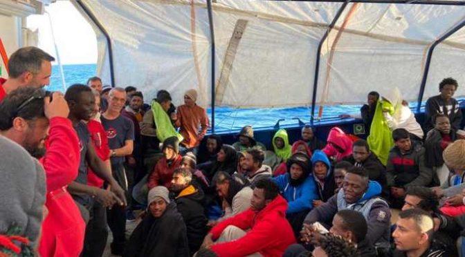 Coronavirus in Nordafrica: ma in Italia sbarcano senza controlli, anche oggi a Lampedusa – FOTO
