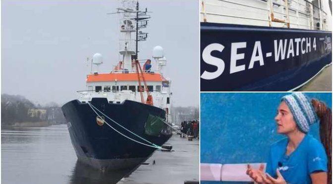 SeaWatch4 sequestrata da Guardia Costiera: è nave illegale