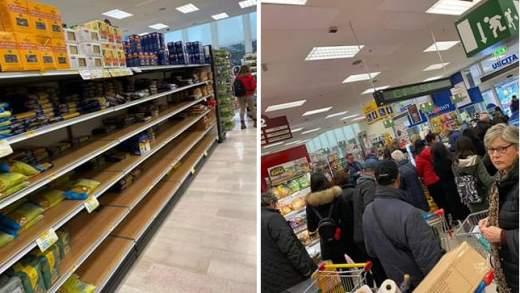 Coronavirus, supermercati presi d'assalto a Milano e città colpite
