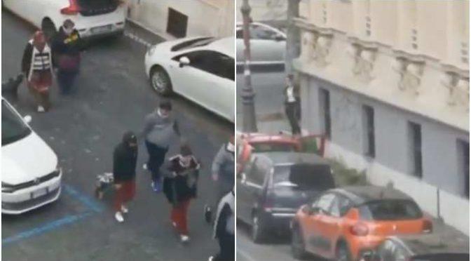 Italiani chiusi in casa, Rom possono razziare liberamente  – VIDEO