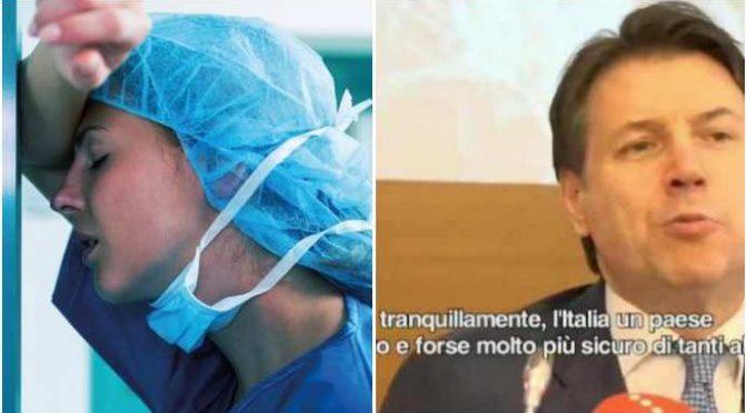 Va a prendere moglie infermiera dopo turno di 24 ore e viene multato: violato il DPCM di Conte