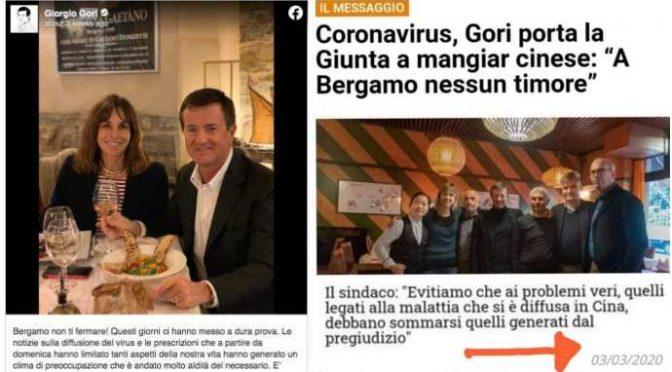 Bergamo: 4.500 morti fa, il sindaco Gori contro chiusura – VIDEO