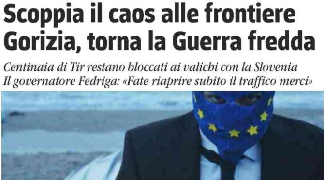 La UE vuole affamare l'Italia: centinaia TIR bloccati a frontiere