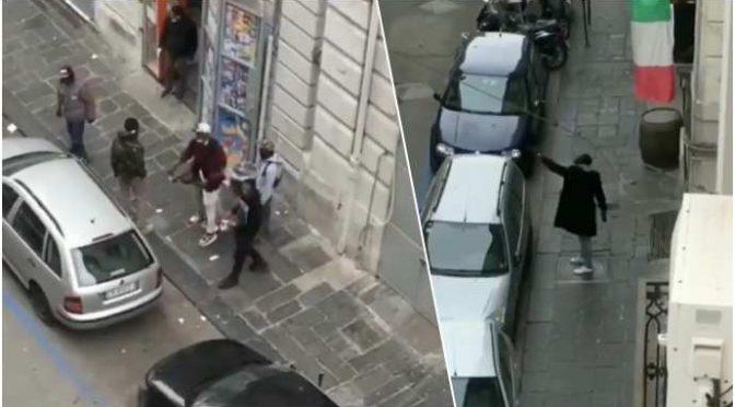 """Coronavirus, locale etnico aperto e immigrati zittiscono italiani: """"Voi in casa"""" – VIDEO"""