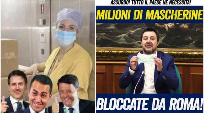 Governo rifiuta 1 milione di mascherine per comprarle, invece, dall'amico indagato di Renzi