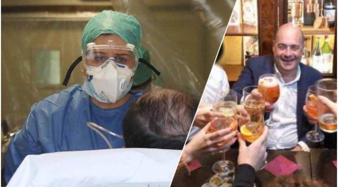 Coronavirus, medici e infermieri senza mascherine promesse da governo – VIDEO