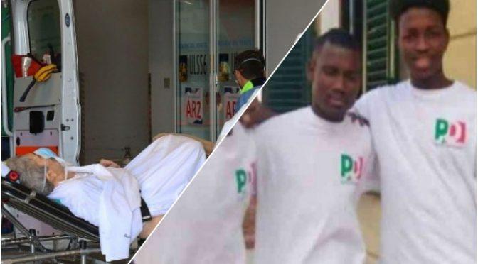 Africano massacra anziana, l'aveva già fatto e sindaco PD gli aveva cambiato casa: mantenuto dal 2012