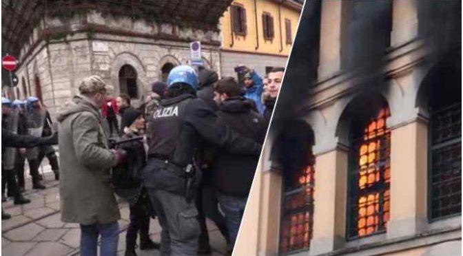 """Toghe rosse verso svuotacarceri mascherato: """"Liberiamo le carceri"""", agenti pestati a Bologna – VIDEO"""