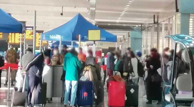 Stazione Termini stracolma, il fallimento del governo Conte – VIDEO