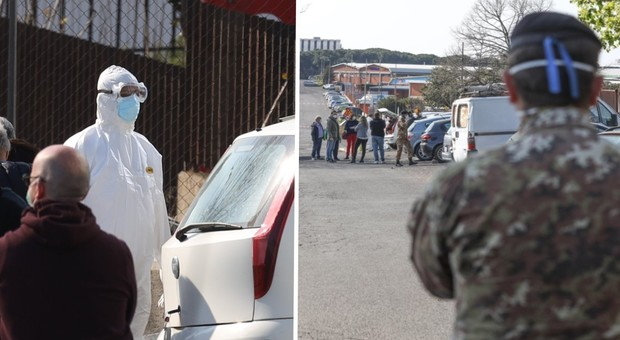 Coronavirus a Roma: palazzo occupato da immigrati dichiarato 'zona rossa' – VIDEO