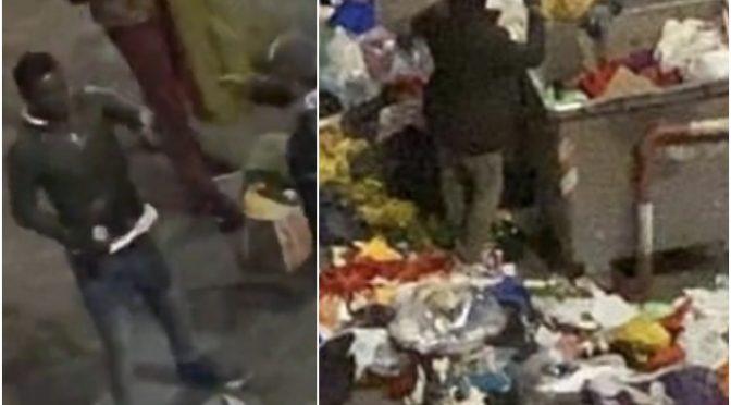 Coronavirus, immigrati sfasciano tutto: italiani costretti a pulire – VIDEO