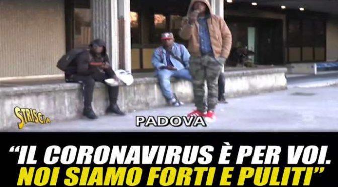 """Immigrati: """"Coronavirus è per voi italiani, noi siamo forti e puliti"""" – VIDEO"""