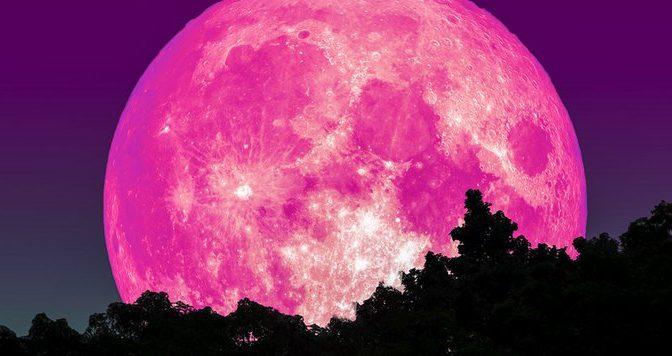 La Superluna rosa se ne fotte della quarantena