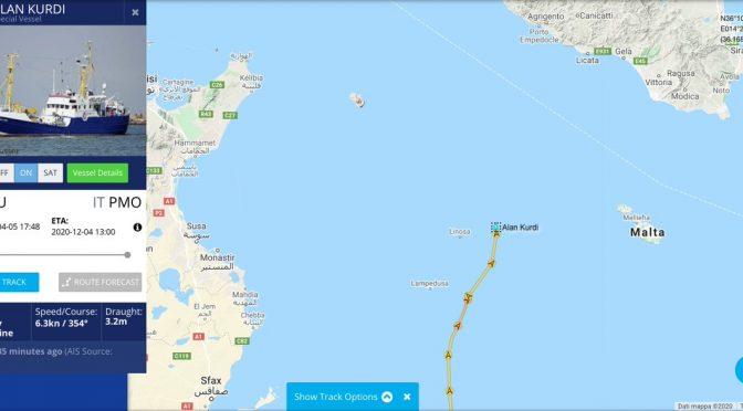 ONG tedesca carica di clandestini verso la Sicilia: per loro niente multa