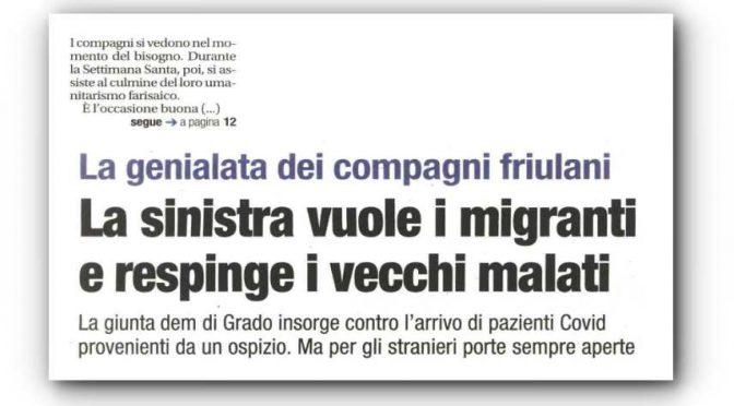 Il PD caccia i vecchi italiani e accoglie gli immigrati