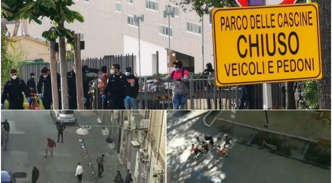 Parchi chiusi per italiani: immigrati spacciano e giocano a calcio – VIDEO