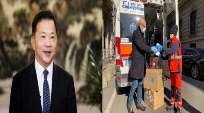 Offensiva cinese: pacchi di mascherine al Giornale dal ministro della propaganda cinese