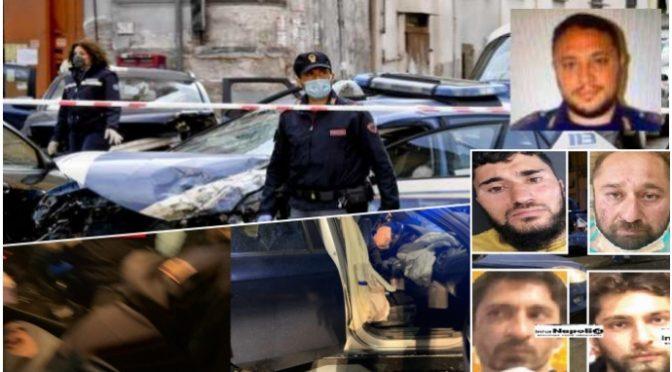 Auto con 6 rom a bordo sfonda posto di blocco: poliziotti feriti