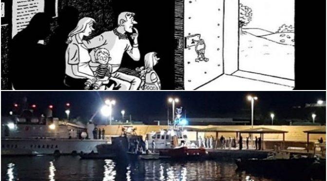 Conte parla e i clandestini sbarcano a Lampedusa – VIDEO