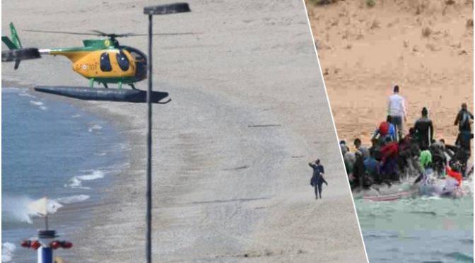 Pasqua, elicotteri a caccia di italiani e non di clandestini