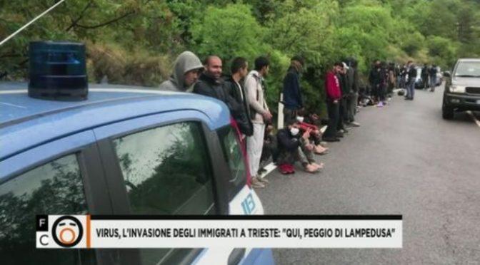 """7.500 islamici in marcia verso Trieste: """"Qui, peggio di Lampedusa"""" – VIDEO"""