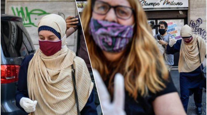 """Silvia Romano, Rula Jebreal: """"In Italia prigioniera come in Somalia"""""""