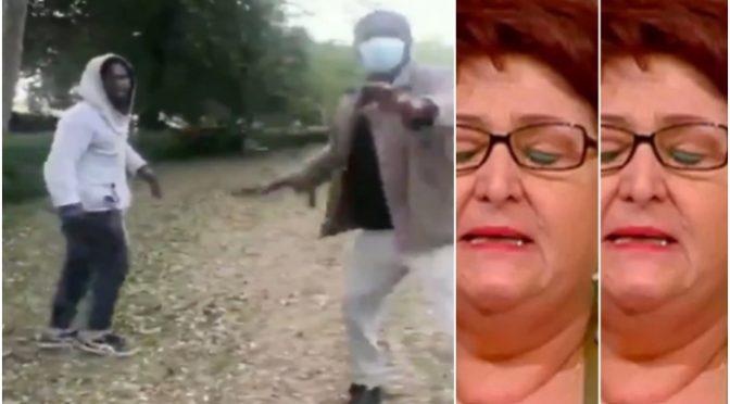 CLANDESTINI BELLANOVA AGGREDISCONO PASSANTI E VIGILI – VIDEO