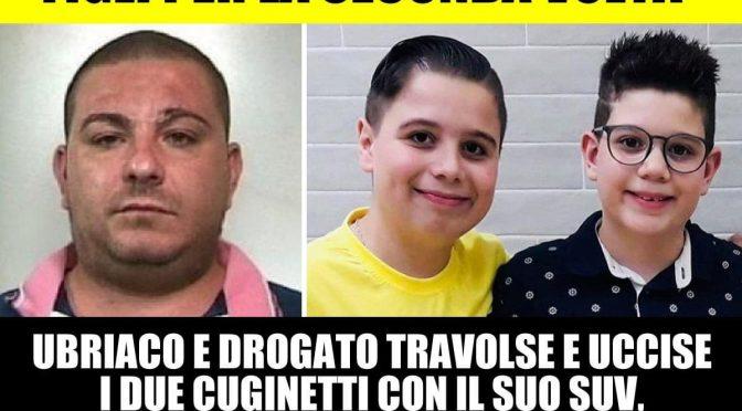 Solo 9 anni al drogato che ha ucciso 2 cuginetti con il SUV