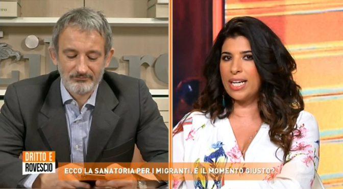 """Marocchina esulta: """"Giusto regolarizzare i clandestini"""" – VIDEO"""