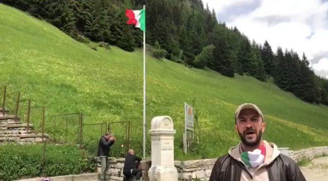 Torna il Tricolore al confine con l'Austria – VIDEO