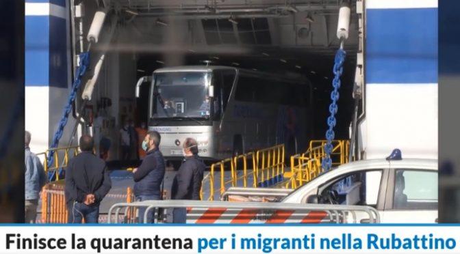 Finita quarantena su nave di lusso per 183 clandestini: la vacanza continua – VIDEO