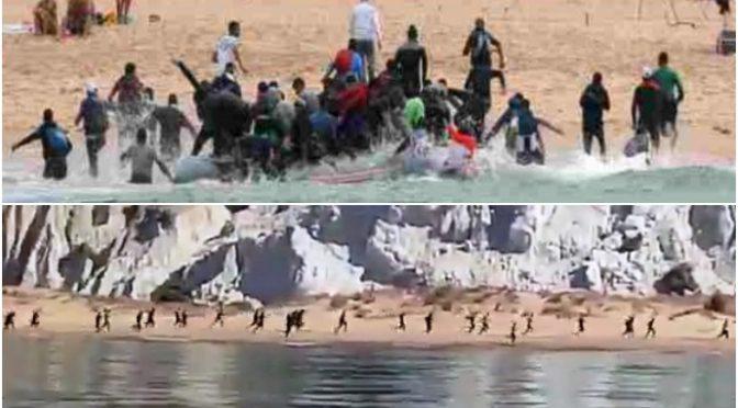 Sbarcano 400 tunisini: bloccati solo 60, gli altri si sono dileguati