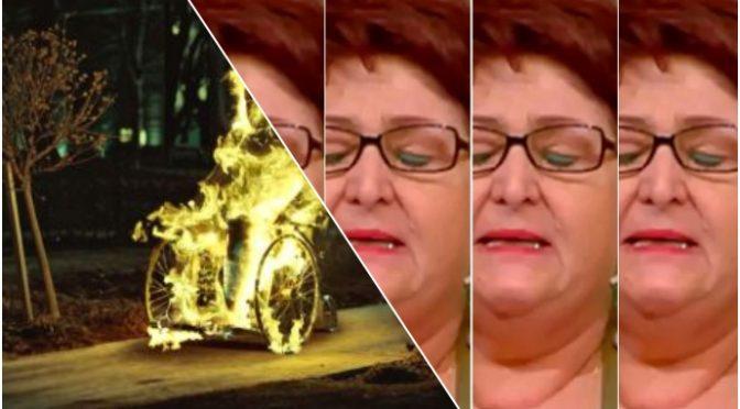 Pensionato disabile si dà fuoco per disperazione sulla carrozzina