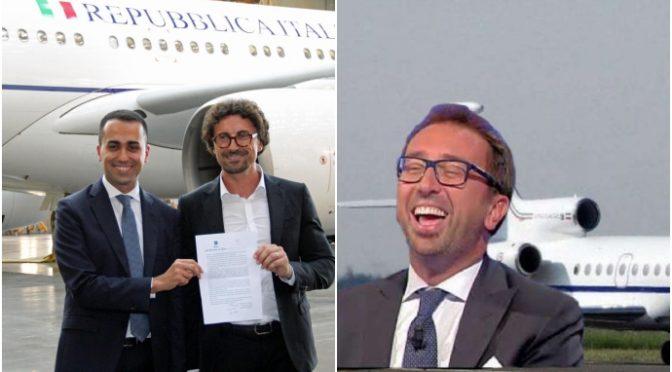 Casta grillina: Bonafede si fa portare a Roma dall'aereo di Stato