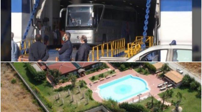 Tunisini devastano nave quarantena: trasferiti in resort con piscina – VIDEO