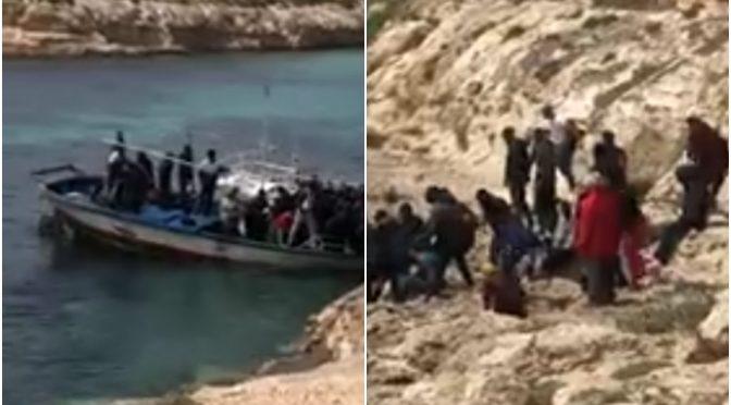 Ventimiglia: i clandestini si accampano sulla spiaggia