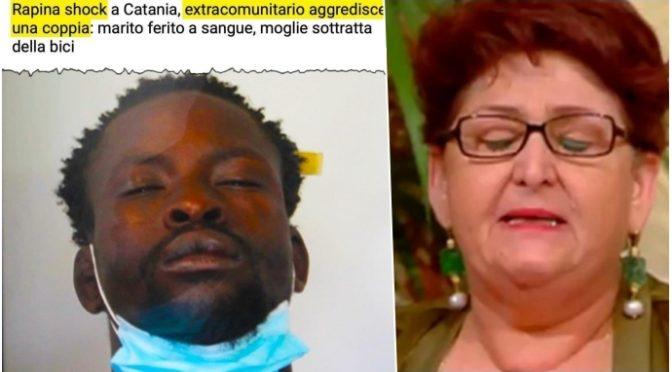 Clandestino aggredisce coppia, marito ferito a sangue: donna rapinata