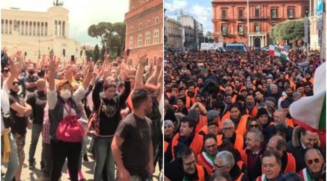 """Popolo in rivolta, da Milano a Roma un solo grido: """"Libertà!"""" – VIDEO"""