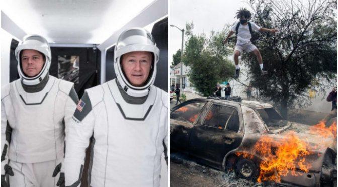 SpaceX: navicella aggancia stazione spaziale, l'uomo bianco continua ad esplorare