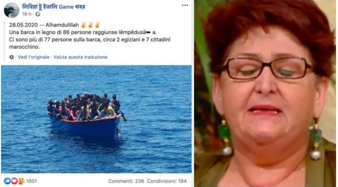 500 clandestini verso Lampedusa in 24 ore: scafisti celebrano sbarco