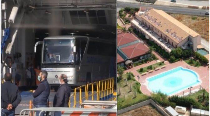 Centinaia clandestini trasferiti da Lampedusa a resort di lusso – VIDEO